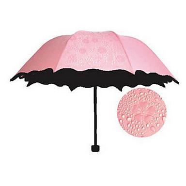 임의 색상 접는 우산 써니와 비오는 고무 레이디 / 남성