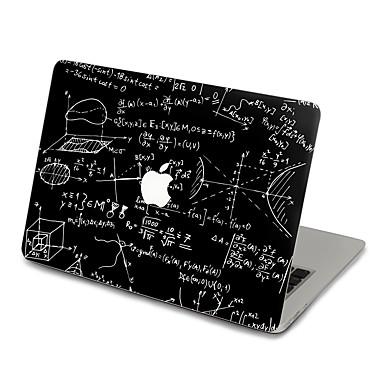 1개 스킨 스티커 용 스크래치 방지 블랙 & 화이트 울트라 씬 무광 PVC MacBook Pro 15'' with Retina MacBook Pro 15'' MacBook Pro 13'' with Retina MacBook Pro 13''