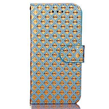 Mert iPhone 7 tok / iPhone 7 Plus tok / iPhone 6 tok Pénztárca Case Teljes védelem Case Mértani formák Kemény Műbőr AppleiPhone 7 Plus /