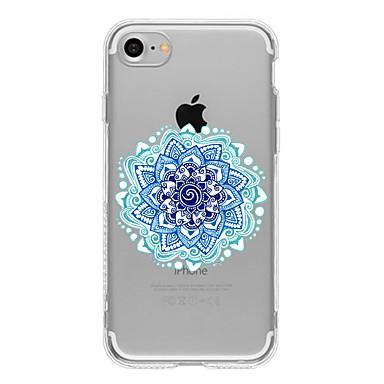 케이스 제품 Apple iPhone 6 iPhone 7 Plus iPhone 7 패턴 뒷면 커버 꽃장식 소프트 TPU 용 iPhone 7 Plus iPhone 7 iPhone 6s Plus iPhone 6s iPhone 6 Plus iPhone