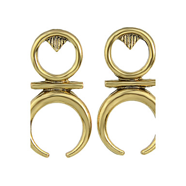 Női Francia kapcsos fülbevalók - Személyre szabott, Divat Arany / Ezüst Kompatibilitás Parti / Napi / Hétköznapi