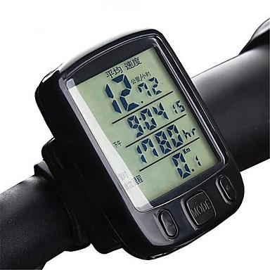 Szórakoztató biciklizés Mások Kerékpározás/Kerékpár Mountain bike összecsukható kerékpár Kerékpár computerHőmérők Av - átlagsebesség Dst