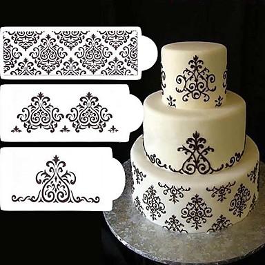 Narzędzie do dekorowania Tort Plastikowy ciasto dekorowanie