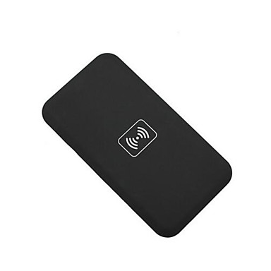 τσι ασύρματο πληκτρολόγιο φορτιστής + ασύρματο προσαρμογέα δέκτη + TPU μαλακή σαφής περίπτωση που για το iPhone 5 5s