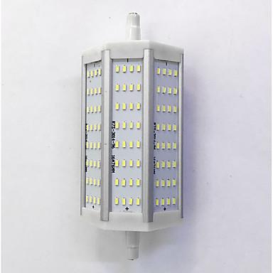 880lm R7S LED 콘 조명 T 96LED LED 비즈 SMD 3014 장식 따뜻한 화이트 / 차가운 화이트 85-265V
