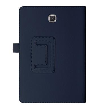 Kılıf Na Samsung Galaxy Tab 8,0 Pełne etui Przypadki tablet Jendolity kolor Twarde Skóra PU na