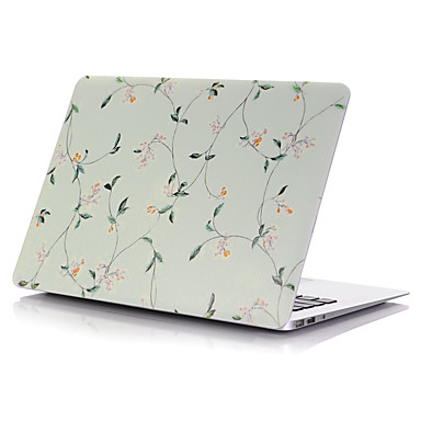 MacBook Tok Tokok Virág Műanyag mert MacBook Pro 15 hüvelyk / MacBook Air 13 hüvelyk / MacBook Pro 13 hüvelyk