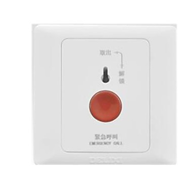 Delixi 유선 Others SOS emergency call button alarm switch 아이보리