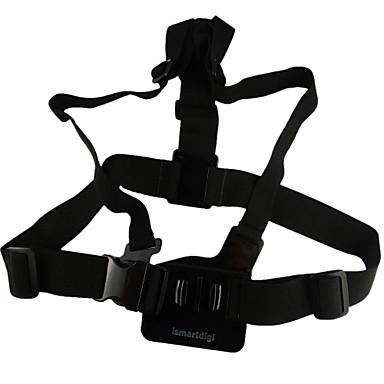 Pasek na klatkę piersiową Na ramiączkach 3D Dla Action Camera GGopro 5/4/3/3+/2/1 SJ4000 Univerzál Stop aluminium