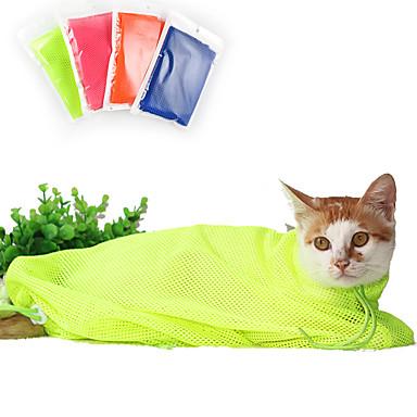 고양이 캐리어&여행용 배낭 / 클리닝 애완동물 캐리어 휴대용 / 통기성 레드 / 그린 / 블루 / 오렌지 옷감