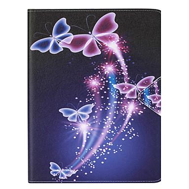 용 카드 홀더 케이스 풀 바디 케이스 버터플라이 하드 인조 가죽 Apple iPad 4/3/2