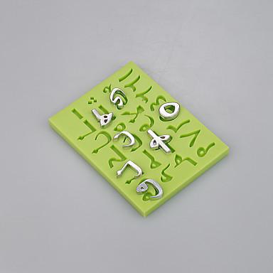 Új levél forma konyhai kiegészítők fondant szilikon öntőforma torta díszítő eszközöket színes random
