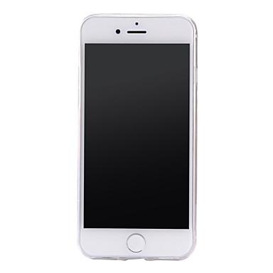 Custodia Fantasia disegno Per 7 Transparente Mattonella iPhone Morbido in Per Plus retro rilievo iPhone Decorazioni 7 6 05267568 TPU iPhone Apple rrdz8qwPv