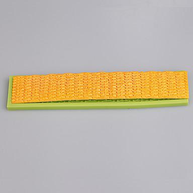 뜨거운 woderful 디자인 퐁당 케이크 사탕 금형 부엌 도구 컬러 랜덤에 대한 실리콘 스트립