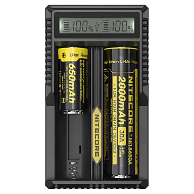SunWalk 18650,18490,18350,17670 17500,16340,14500,10440 배터리 케이스 2 Micro USB DC 5V