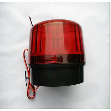 piros villogó fények könnyű motorkerékpár lopásgátló biztonsági