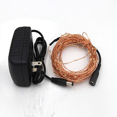 10 m 100灯 Diody LED SMD 0603 Ciepła biel / Biały Mozliwość połączenia 12 V / IP65