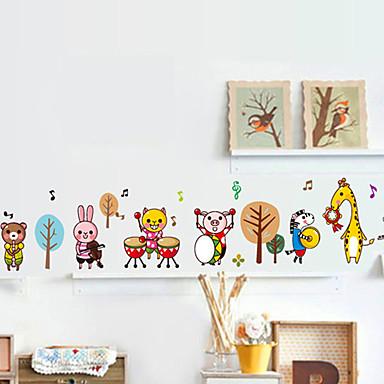 애니멀 / 정물화 / 풍경 벽 스티커 3D 월 스티커 데코레이티브 월 스티커 / 냉장고 스티커 / 웨딩 스티커,pvc 자료 이동가능 / 재부착가능 홈 장식 벽 데칼