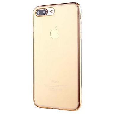 Mert iPhone 7 tok / iPhone 6 tok Átlátszó Case Hátlap Case Egyszínű Puha TPU AppleiPhone 7 Plus / iPhone 7 / iPhone 6s Plus/6 Plus /