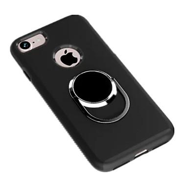 케이스 제품 iPhone 7 Plus iPhone 7 Apple iPhone 7 Plus iPhone 7 스탠드 뒷면 커버 한 색상 하드 실리콘 용 iPhone 7 Plus iPhone 7