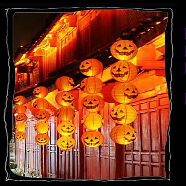 ieftine Decorațiuni de Casă-Halloween bar de decoratiuni dovleac de hârtie lanternă este decorat portabil jack de agățat de dovleac, cu o barbă 20cm