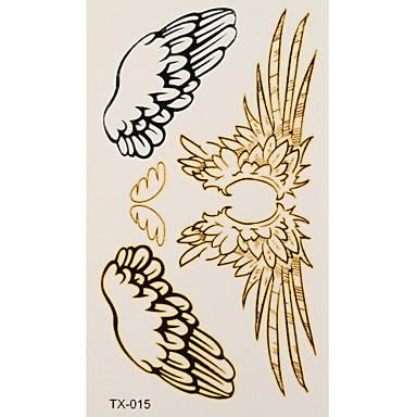 1 타투 스티커 쥬얼리 시리즈 angel wings 플래시 문신 임시 문신