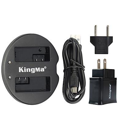 Kingma kettős USB töltő Canon akkumulátor és Canon EOS 550D eos 600d eos 650D EOS 700D USB adapter csatlakozó hálózati