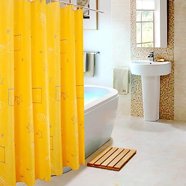 Zasłony prysznicowe Nowoczesny Poliester Geometryczny Machine Made