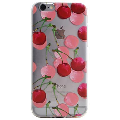 Kompatibilitás iPhone 8 iPhone 8 Plus iPhone 6 iPhone 6 Plus iPhone 5 tok tokok Átlátszó Minta Hátlap Case Gyümölcs Puha Hőre lágyuló