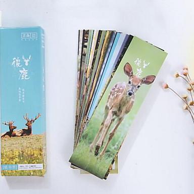 박스 북마크 사랑 동물 사슴 (연습장)