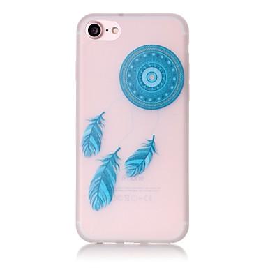 용 아이폰7케이스 / 아이폰7플러스 케이스 / 아이폰6케이스 야광 / 패턴 케이스 뒷면 커버 케이스 포수 드림 소프트 TPU Apple아이폰 7 플러스 / 아이폰 (7) / iPhone 6s Plus/6 Plus / iPhone 6s/6 /