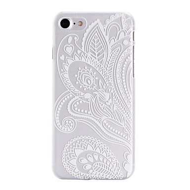 Mert iPhone 7 tok / iPhone 7 Plus tok / iPhone 6 tok Minta Case Hátlap Case Virág Kemény PC AppleiPhone 7 Plus / iPhone 7 / iPhone 6s