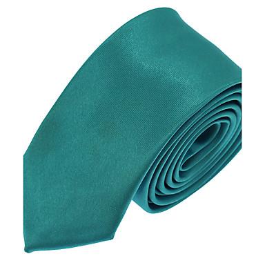 economico Abbigliamento uomo-Per uomo Da serata / Da ufficio / Essenziale Cravatta Tinta unita