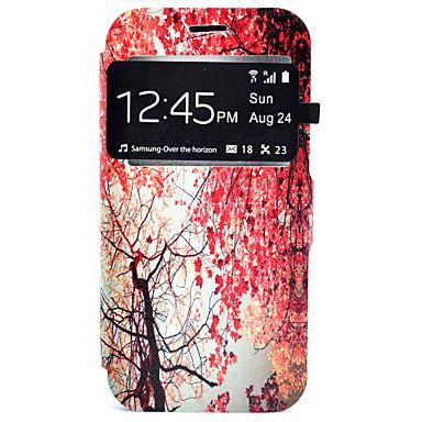 Case Kompatibilitás Samsung Galaxy Samsung Galaxy S7 Edge Kártyatartó Állvánnyal Héjtok Fa Kemény PU bőr mert S7 edge S7