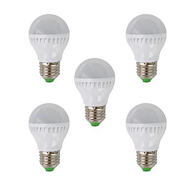 2700 lm E26/E27 LED-bollampen G45 26 leds SMD 3022 Warm wit AC 220-240V