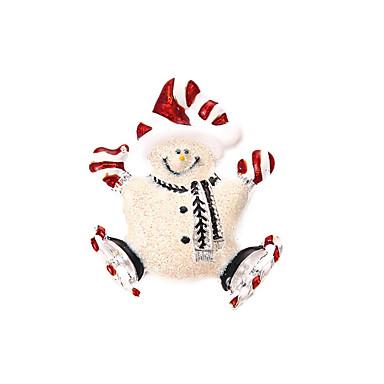 Női Melltűk karácsonyi Fehér Ékszerek Napi Hétköznapi Karácsonyi ajándékok