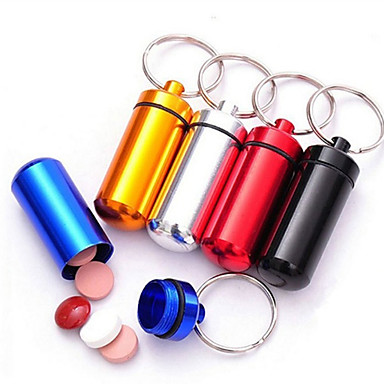 Key Chain Toys Key Chain Multifunction Cylindrical Metal Aluminium High Quality Pieces Birthday Children's Day Gift
