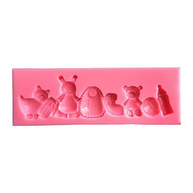 Narzędzia do pieczenia Plastikowy Ekologiczne DIY Wysoka jakość 3D Narzędzie do pieczenia ciasto dekorowanie New Arrival Tort Formy Ciasta