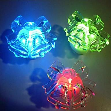 akryl świecąca kolorowym dzwonkiem nocna lampka nocna mała lampka urodzinowa prezent urodzinowy kolorowe światło