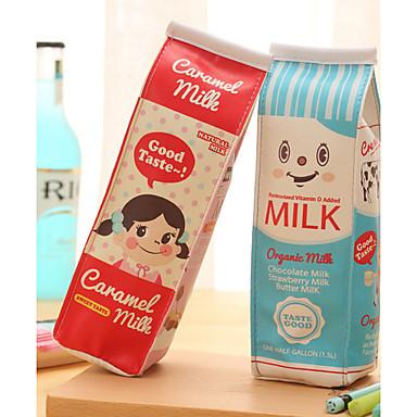 sacchetto della penna disegno tessile cartone di latte