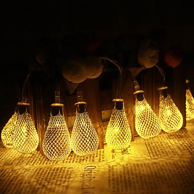 jiawen 500 만 (20)는 빛의 정원 웨딩 chritma 빛 휴일 장식 침실 트링 금속 하락을 주도 (AC 110-220V)