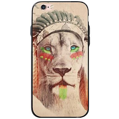 용 아이폰6케이스 / 아이폰6플러스 케이스 / 아이폰5케이스 패턴 케이스 뒷면 커버 케이스 동물 소프트 아크릴 Apple iPhone 6s Plus/6 Plus / iPhone 6s/6 / iPhone SE/5s/5