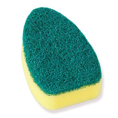 2db étel pálcát tisztító szivaccsal szappanadagoló súroló tisztító kefe levehető