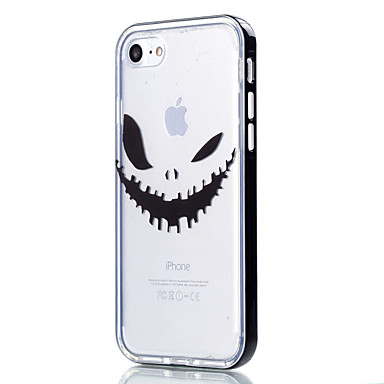 Mert iPhone 7 tok / iPhone 6 tok / iPhone 5 tok Átlátszó / Minta Case Hátlap Case Rajzfilmfigura Puha TPU AppleiPhone 7 Plus / iPhone 7 /