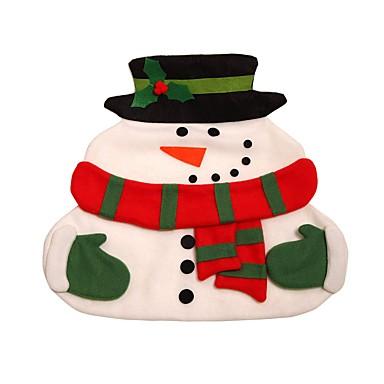 Új karácsonyi mikulás alátétek hóember mat tányéralátét párna betét asztalnál karácsonyi kellékek díszek