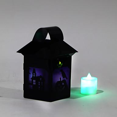 할로윈 마녀 등불 의상 파티 소품 1 개 (패턴은 랜덤)