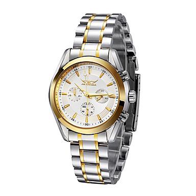 WINNER Masculino Relógio de Pulso relógio mecânico Automático - da corda automáticamente Calendário Impermeável Aço Inoxidável Banda