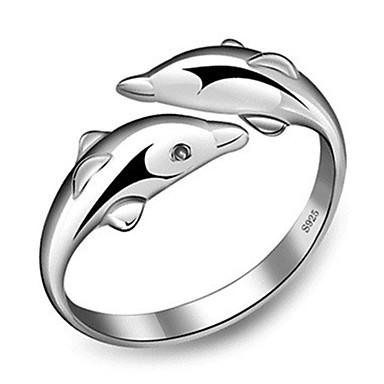 Gyűrűk / Parti Ékszerek Réz Női Gyűrű 1db,Egy méret Ezüst