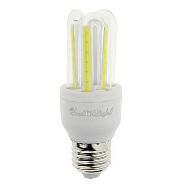 E26/E27 LED 콘 조명 T 6 LED가 COB 장식 차가운 화이트 600lm 6000K AC 85-265V