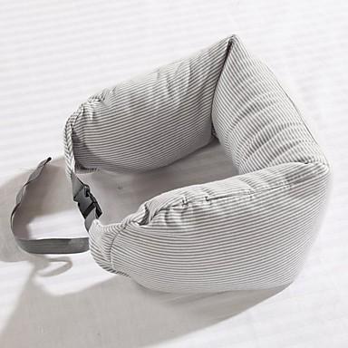 여행 베개 쿠션 호흡 능력 정전기 방지 항균기능 U 형태 용 여행용 휴식 악세사리블랙 그레이 핑크